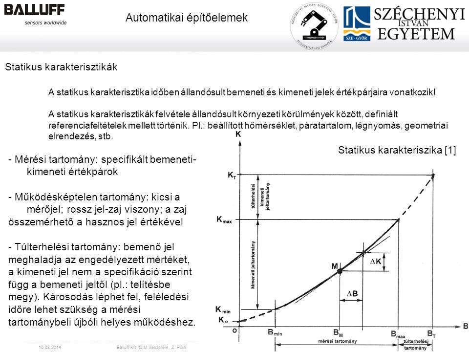 Statikus karakteriszika [1]